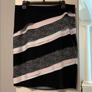 White House Black Market layered skirt
